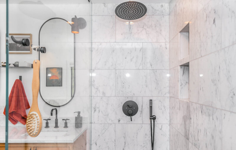 Prepare to tile a shower